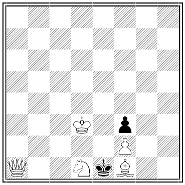 schachmatnyi listok chess problem