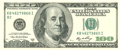 http://commons.wikimedia.org/wiki/File:Usdollar100front.jpg
