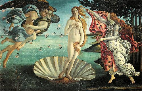 http://commons.wikimedia.org/wiki/File:La_nascita_di_Venere_(Botticelli).jpg