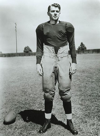 http://commons.wikimedia.org/wiki/File:Ronald_Reagan_in_Knute_Rockne-All_American_1940.jpg
