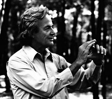 http://commons.wikimedia.org/wiki/File:Richard_Feynman_-_Fermilab.jpg