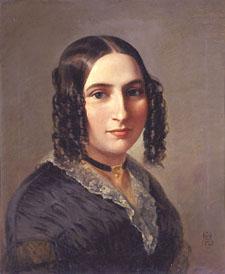 http://commons.wikimedia.org/wiki/File:Fanny_Hensel_1842.jpg
