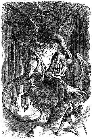 http://commons.wikimedia.org/wiki/File:Jabberwocky.jpg