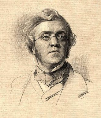 http://commons.wikimedia.org/wiki/File:William_Makepeace_Thackeray.jpg