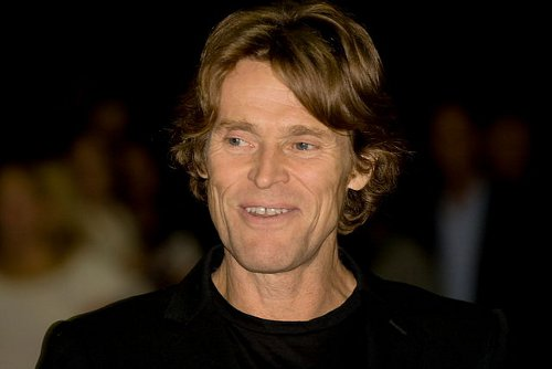 http://commons.wikimedia.org/wiki/File:Flickr_-_Josh_Jensen_-_Willem_Dafoe.jpg