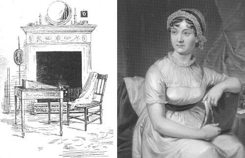http://commons.wikimedia.org/wiki/File:Jane_Austen.jpg
