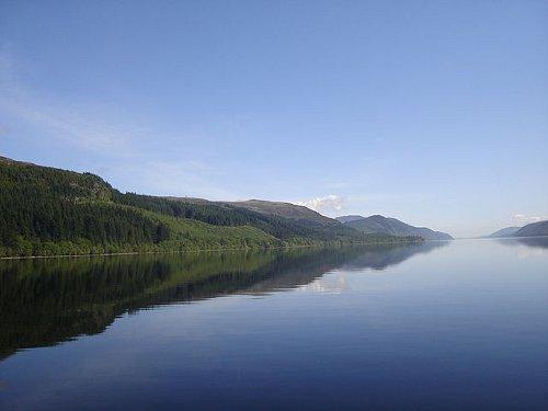 http://commons.wikimedia.org/wiki/File:Loch_Ness_summer.JPG