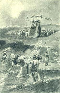 http://commons.wikimedia.org/wiki/File:Xerxes_lash_sea.JPG