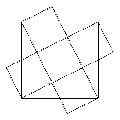 1/5 square theorem - proof