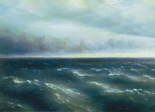 http://en.wikipedia.org/wiki/File:Black_sea_by_Ivan_Aivazovsky.jpg