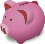 http://commons.wikimedia.org/wiki/File:Open_Clip_Art_Library_Piggy_Bank.svg