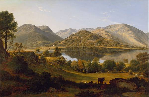 http://commons.wikimedia.org/wiki/File:John_Glover_-_Ullswater,_early_morning_-_Google_Art_Project.jpg