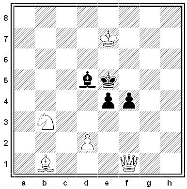 gold chess problem