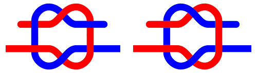http://commons.wikimedia.org/wiki/File:Granny_knot.svg