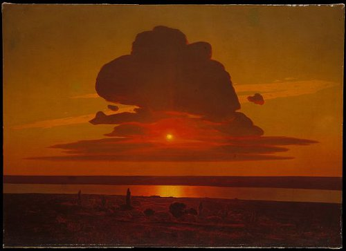 http://commons.wikimedia.org/wiki/File:WLA_metmuseum_Red_Sunset_on_the_Dnieper_Arkhip_Ivanovich_Kuindzhi.jpg