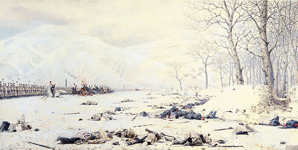 http://commons.wikimedia.org/wiki/Category:Battle_aftermath_in_art#mediaviewer/File:Shipka_field.jpg