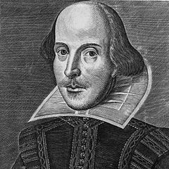 http://commons.wikimedia.org/wiki/File:Shakespeare_Droeshout_1623.jpg