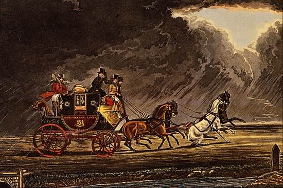 https://commons.wikimedia.org/wiki/File:The_Mail_Coach_in_a_Thunderstorm_on..._-_James_Pollard.png