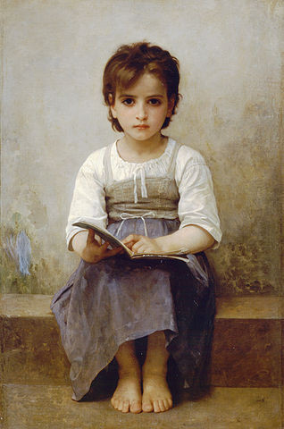 https://commons.wikimedia.org/wiki/File:William-Adolphe_Bouguereau_(1825-1905)_-_The_Difficult_Lesson_(1884).jpg