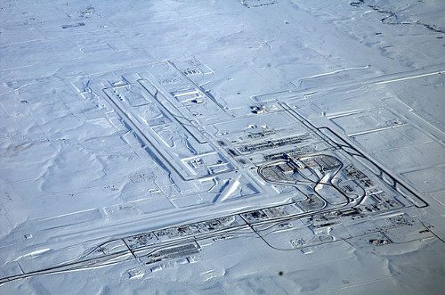 http://commons.wikimedia.org/wiki/File:Denver_International_Airport,_snow.jpg