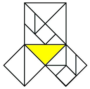 tangram pythagoras