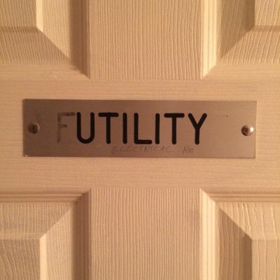 AU utility sign
