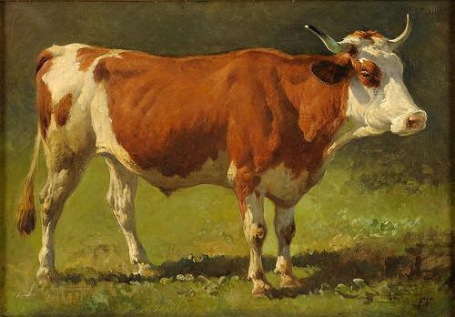 http://commons.wikimedia.org/wiki/File:Friedrich_Voltz_Ochse.jpg