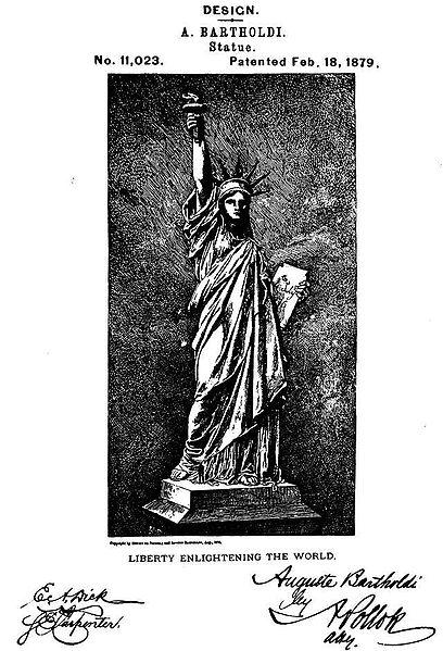 http://commons.wikimedia.org/wiki/File:U.S._Patent_D11023.jpeg