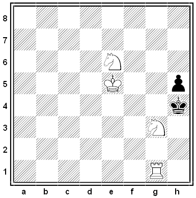 keeble chess problem