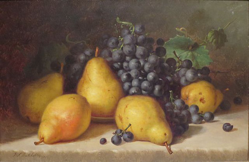 http://commons.wikimedia.org/wiki/File:Frederick_Stone_Batcheller_-_%27Grapes_and_Pears%27,_1877,_High_Museum.JPG