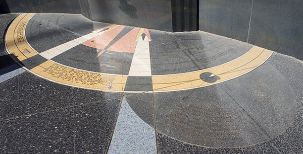 http://commons.wikimedia.org/wiki/File:Hoover_Dam_star_map_floor_center.jpg