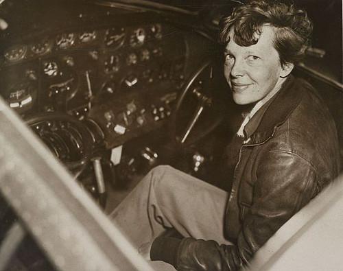 Amelia Earhart via Futility Closet