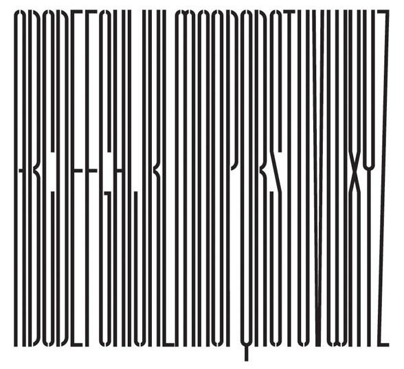 alan fletcher alphabet gates