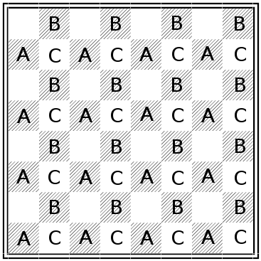 proizvolov chess puzzle - solution