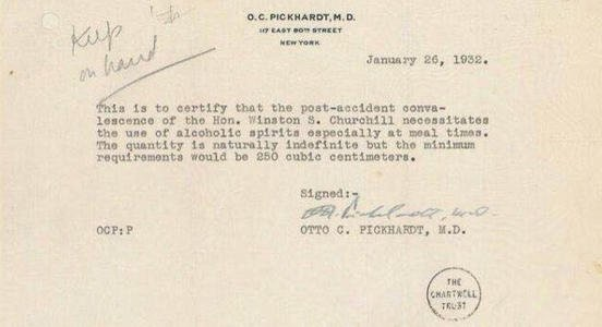 churchill prescription