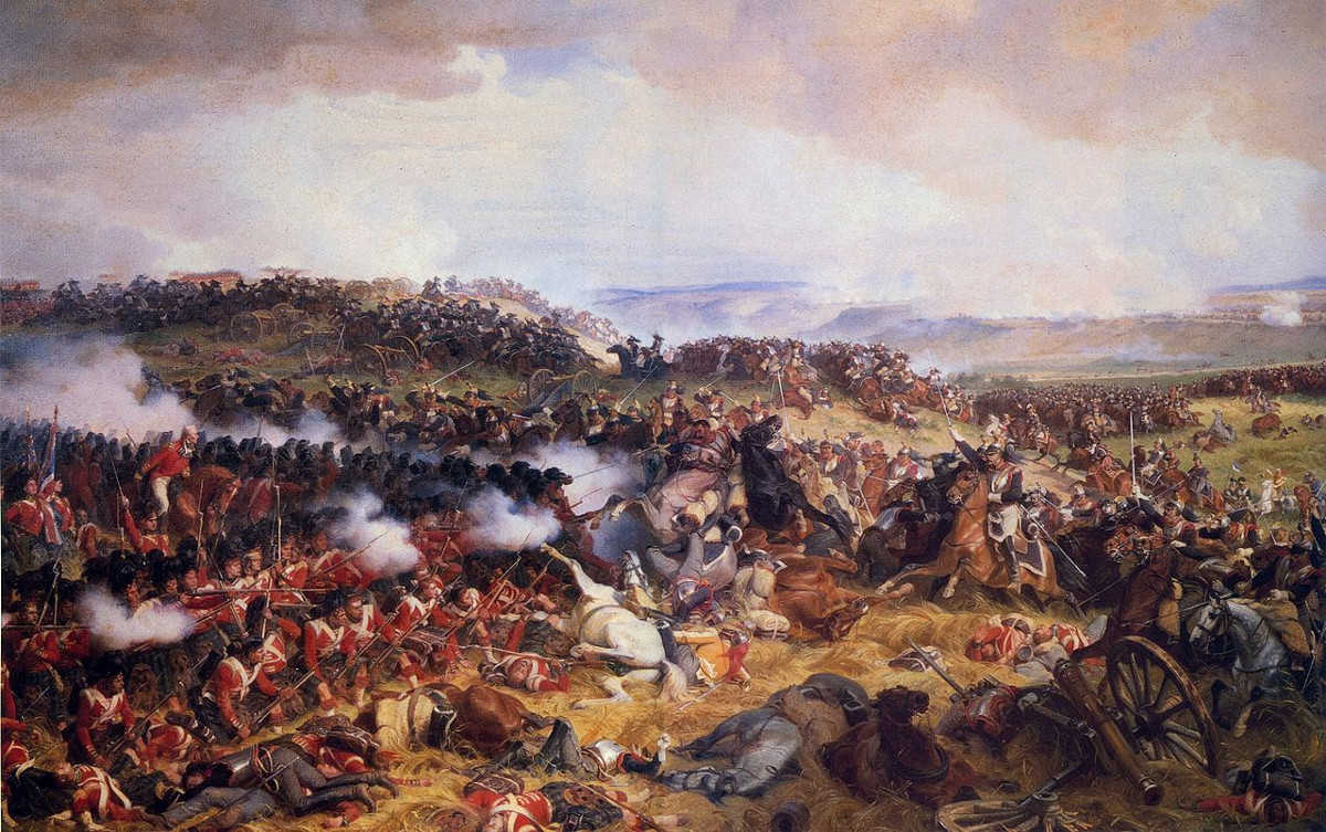 https://commons.wikimedia.org/wiki/File:Charge_of_the_French_Cuirassiers_at_Waterloo.jpg
