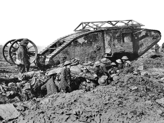 https://commons.wikimedia.org/wiki/File:British_Mark_I_male_tank_Somme_25_September_1916.jpg