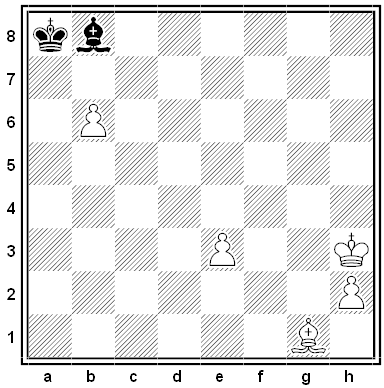 dawson half-move chess puzzle