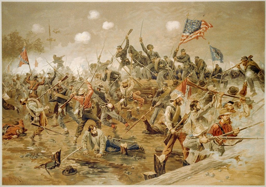 https://commons.wikimedia.org/wiki/File:Battle_of_Spottsylvania_by_Thure_de_Thulstrup.jpg