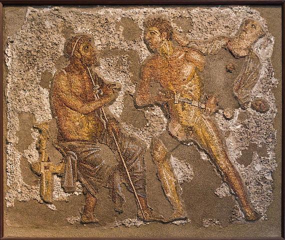 https://commons.wikimedia.org/wiki/File:Achilles_Agamemnon_Pompei_mosaic_NAMNaples_100006.jpg