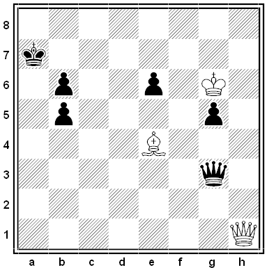 weiß chess problem