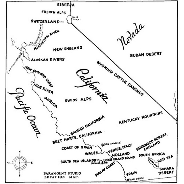 paramount shooting locations 1927