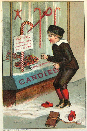 https://commons.wikimedia.org/wiki/File:Candy_cane_William_B_Steenberge_Bangor_NY_1844-1922.jpg