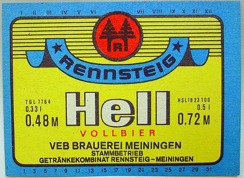 https://commons.wikimedia.org/wiki/File:Rennsteig_Hell_Vollbier,_VEB_GK_Rennsteig-Meiningen_Werk_Meiningen_Etikett_(DDR).jpg