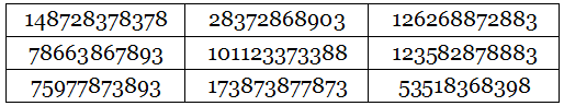 double alphamagic square 1