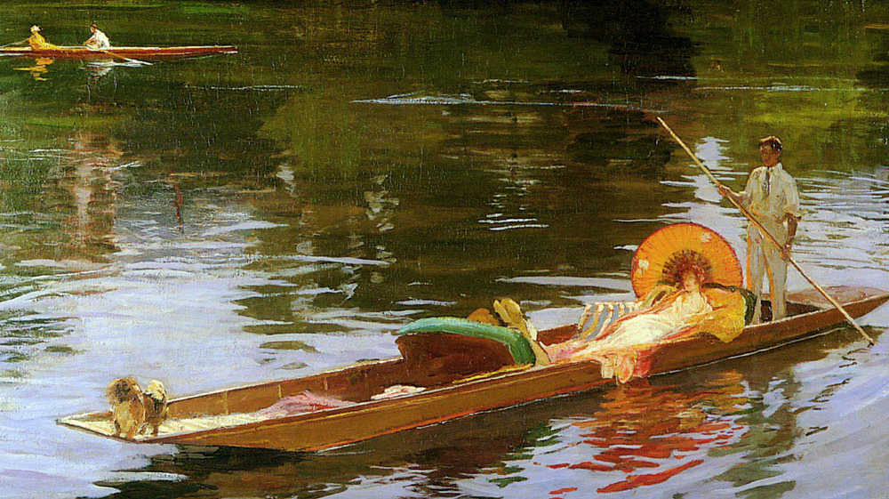https://commons.wikimedia.org/wiki/File:Boating_on_the_Thames_by_John_Lavery.jpeg