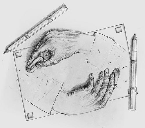 erasing hands