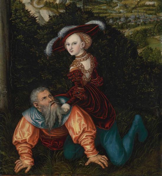 https://commons.wikimedia.org/wiki/File:Lucas_Cranach_d.%C3%84._-_Phyllis_und_Aristotle_(1530).jpg