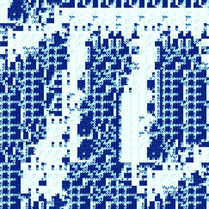 pi fractal - iteration 5
