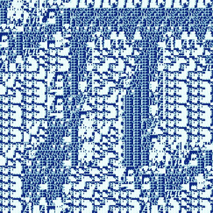 pi fractal - iteration 6